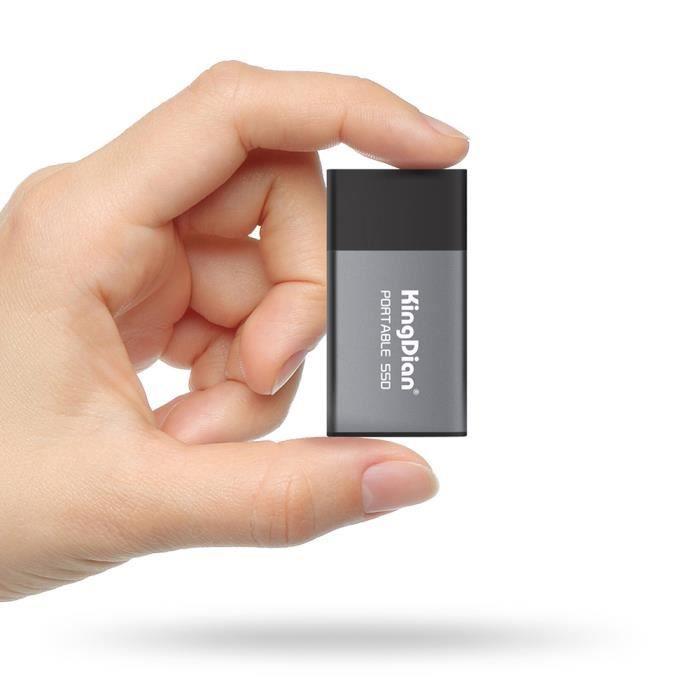 Kingdian P10 Portable Ssd Usb 3.0 vers Adaptateur Type C Disque Ssd externe pour ordinateur de bureau pour ordinateur po 4