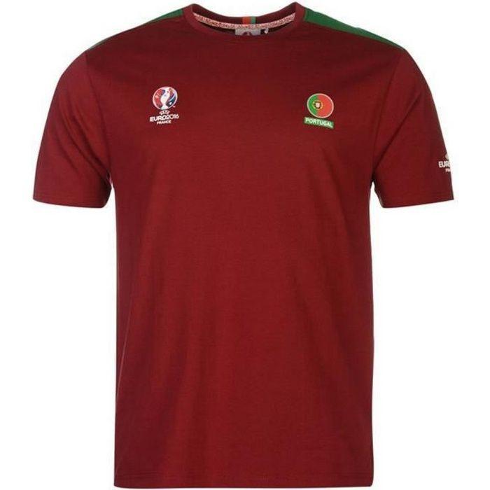 Tee Shirt officiel Homme Fifa Coupe du Monde 2014 Portugal