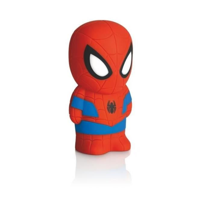 DISNEY - Veilleuse portable à pile Softpal LED Spiderman H12,5cm OFF