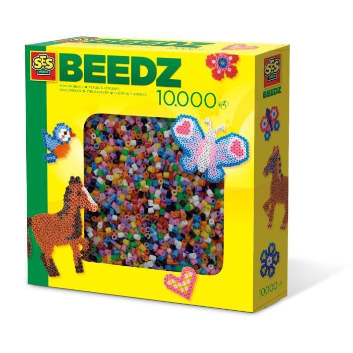 SES Creative ensemble de perles Beedz mix 10000 pièces