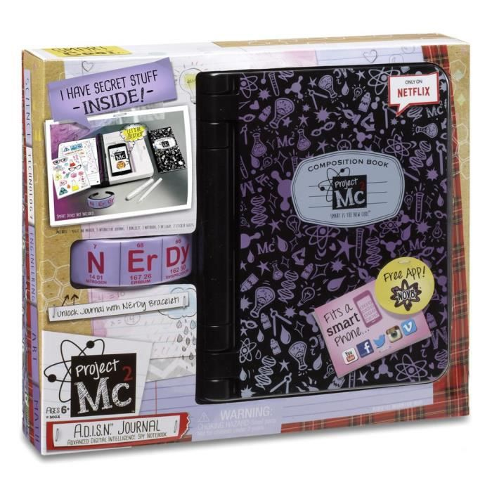 SPLASH TOYS Project MC2 Journal