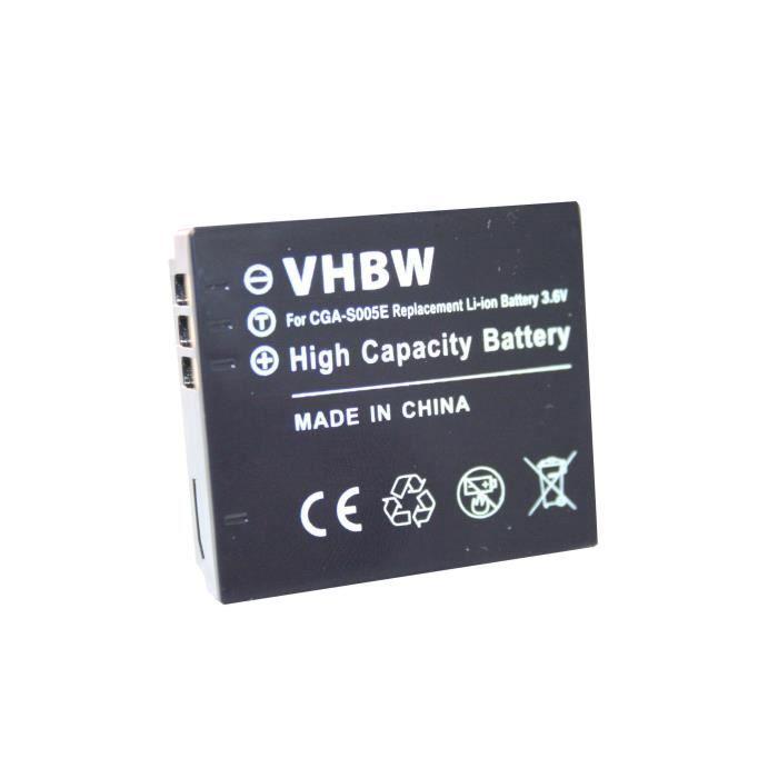 Batterie LI-ION compatible pour RICOH Caplio G600 G700 G700SE GR GR Digital GR Digital II GX100 R3 R4 R5 R30 R40 R50 DX-1G DX-2G …