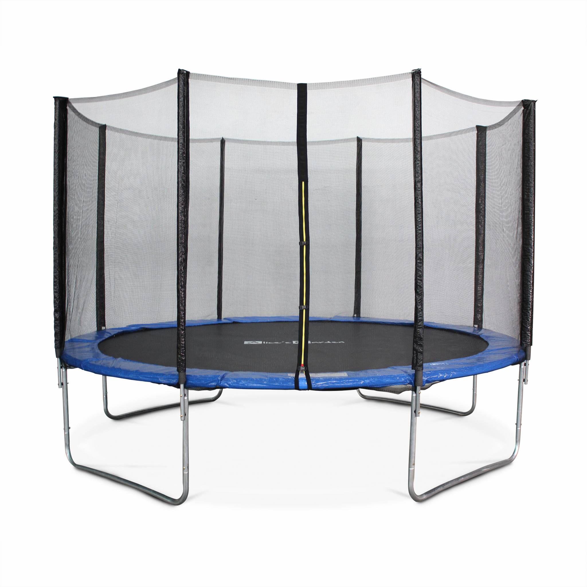 Photo de alices-garden-trampoline-saturne-rond-370cm-avec