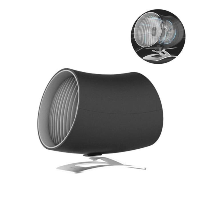 VENTILATEUR Ventilateur USB de Table Noir
