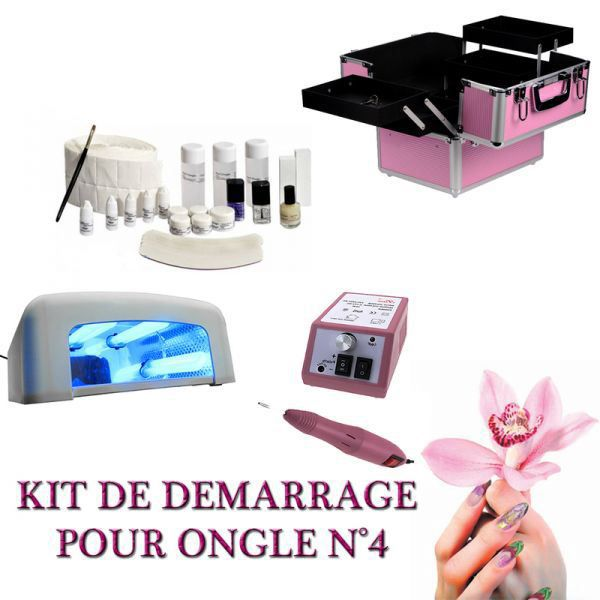 kit manucure n 4 malette lampe uv ponceuse produit achat vente set manucure p dicure cdiscount. Black Bedroom Furniture Sets. Home Design Ideas