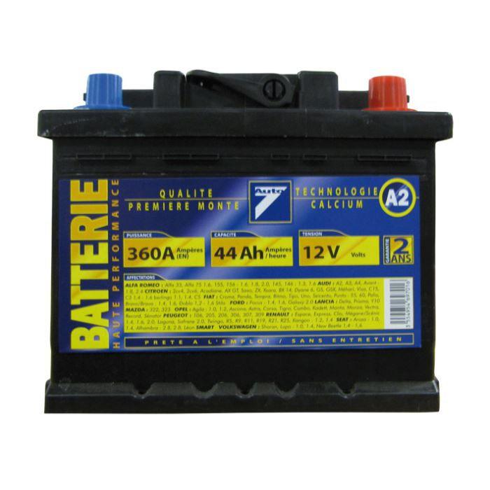 BATTERIE VÉHICULE Batterie 12V 44AH 360A (EN) : Auto7