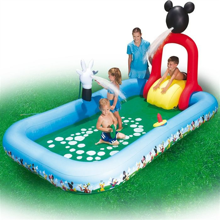 piscine jeu mickey mouse club house achat vente. Black Bedroom Furniture Sets. Home Design Ideas
