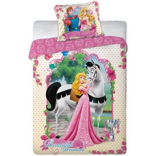 princesses linge de lit housse de couette taie achat. Black Bedroom Furniture Sets. Home Design Ideas