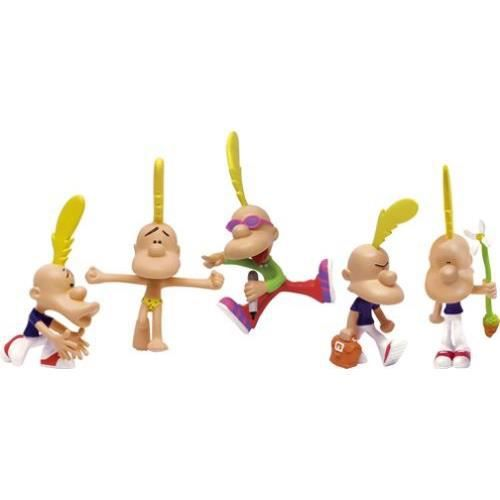 SET De 5 Figurines TiTEUF LA COLLEC LANSAY 100/% NEUF Flexible TI TEUF ZEP