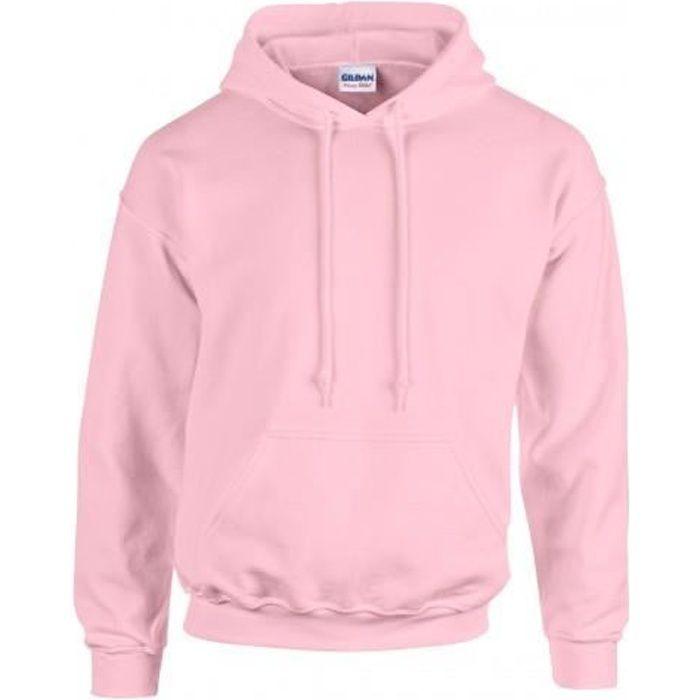 sweatshirt homme rose