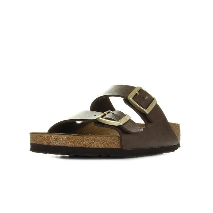 "SANDALE - NU-PIEDS Sandales Birkenstock Arizona BS ""Graceful Toffee"""