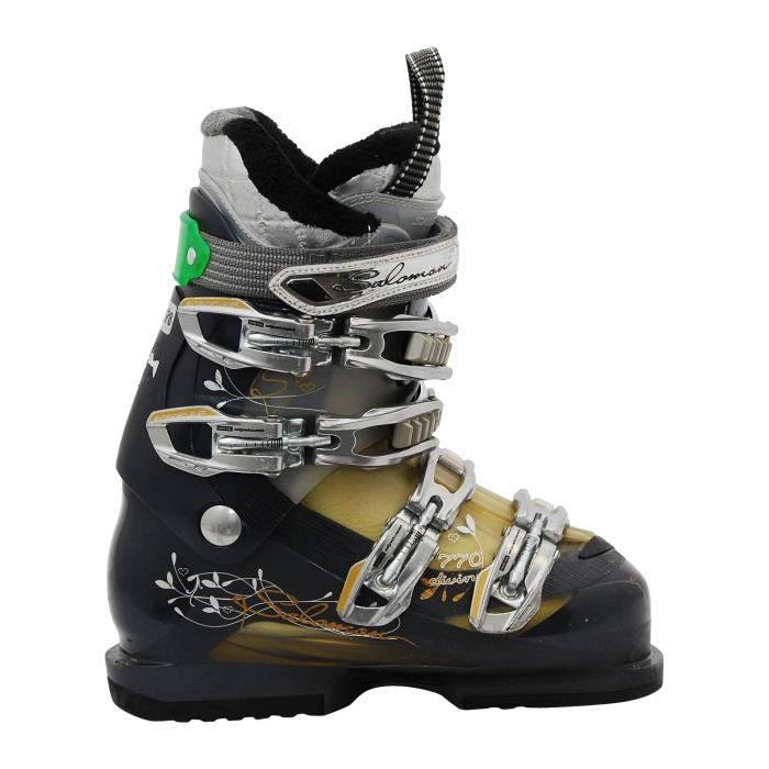 CHAUSSURES DE SKI Chaussure de ski Salomon Divine 770 bleu foncé