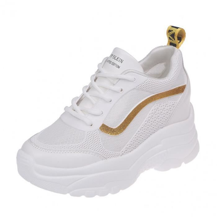 chaussure compensee femme basket nike