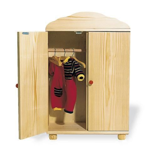 armoire de poup e simone achat vente maison poupee. Black Bedroom Furniture Sets. Home Design Ideas