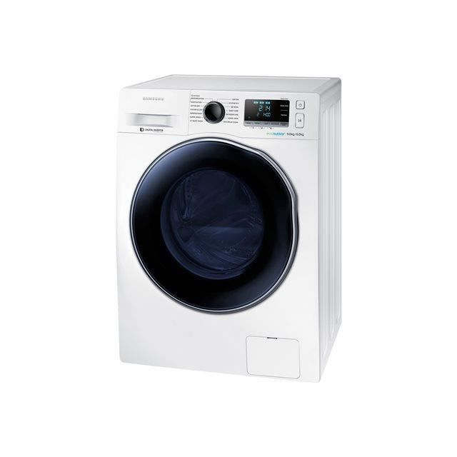 samsung lave linge s chant frontal wd90j6410aw ecobubble electrom nager. Black Bedroom Furniture Sets. Home Design Ideas