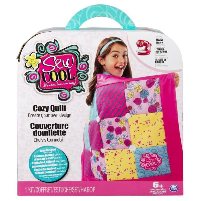 Sew cool kit patchwork sew cool achat vente support for Machine a coudre walmart