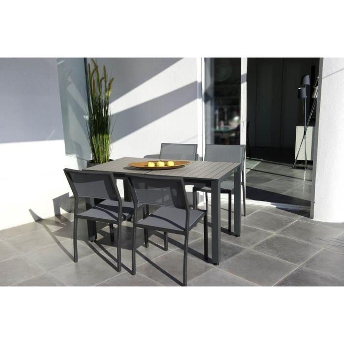 TABLE EXTENSIBLE BALCON AVEC ALLONGE PAPILLON - Achat / Vente