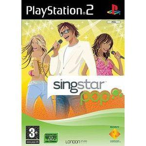 JEU PS2 Singstar Pop
