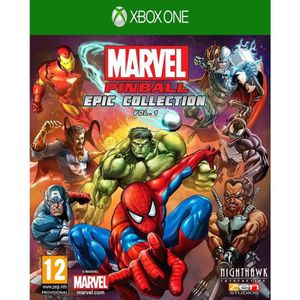 JEUX XBOX ONE Marvel Pinball Epic Collection Volume 1 Jeu Xbox O