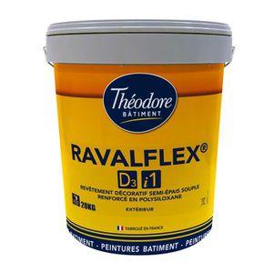 PEINTURE - VERNIS Ravalflex D3-i1 (20kg) - Craie : Peinture ravaleme