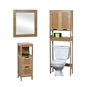 meuble wc achat vente meuble wc pas cher soldes. Black Bedroom Furniture Sets. Home Design Ideas