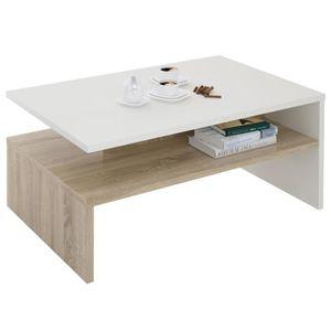 TABLE BASSE Table basse ADELAIDE, table de salon rectangulaire