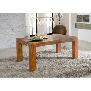 TABLE À MANGER SEULE Table à manger rectangulaire 180x100cm, 6 à 8 Pers
