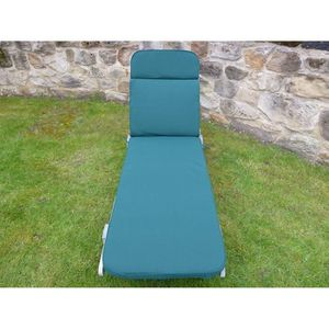 CHAISE LONGUE UK-Gardens Green Garden Furniture - Coussin de cha