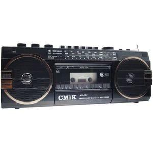 RADIO CD CASSETTE LaPetiteCaverne - Magnétophone Radio K7 Vintage FM