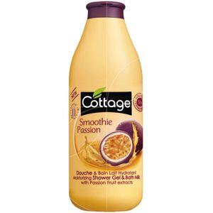 GEL - CRÈME DOUCHE Cottage - Douche et Bain Lait Hydratant Smoothie P