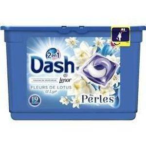 LESSIVE DASH 2en1 Lessive Perles Fleur de Lys Capsules - 1