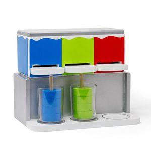 DINETTE - CUISINE Slush Ice - Réfrigérateur / jouet en bois machine