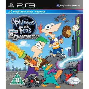 JEU PS3 Phineas and Ferb Across the 2nd Dimension  (Playst