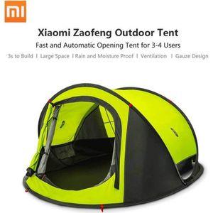 Xiaomi tentes d'ouvertures extérieures automatiques  pour les utilisateurs 3-4 jetent la tente imperméable à l'eau