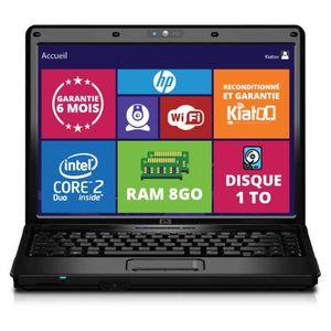 Vente PC Portable ordinateur portable 15 pouces hp 6730 intel core 2 duo 8go ram 1to disque dur w7 pas cher
