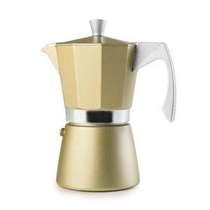 CAFETIÈRE  IBILI 623903 Coffee Maker Espresso Evva Golden 3