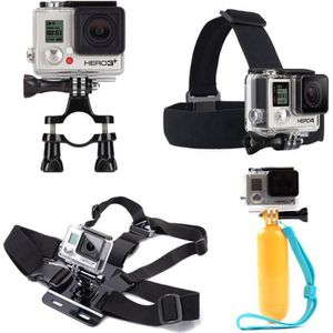 PACK CAMERA SPORT iBroz® - GoPro® Pack Support Premium 10 en 1 kit d