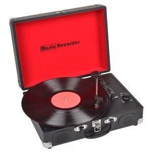 PLATINE VINYLE Hertzmann 36-1D-011 Platine Tourne-disque enregist