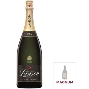CHAMPAGNE Champagne Lanson Black label brut 150cl