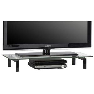 rehausse tv achat vente rehausse tv pas cher cdiscount. Black Bedroom Furniture Sets. Home Design Ideas