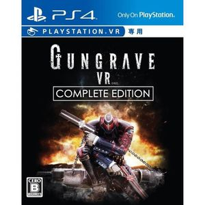 JEU PS VR seedGames Gungrave VR Complete Edition SONY PS4 PL