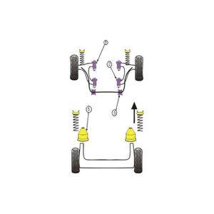 Triangle de Suspension Avant Droit Peugeot 309 GTI