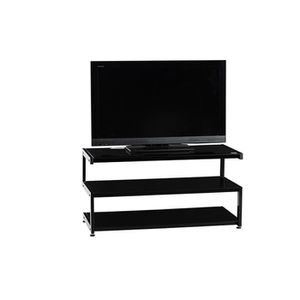 meuble tele verre achat vente meuble tele verre pas cher cdiscount. Black Bedroom Furniture Sets. Home Design Ideas