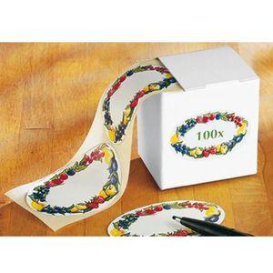 96 pcs Réutilisable Bonbons Confiture Pots Cuisine Étiquette Autocollants De
