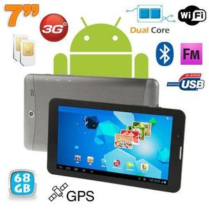 TABLETTE TACTILE Tablette tactile 3G 7 pouces Dual Core Android 4.0