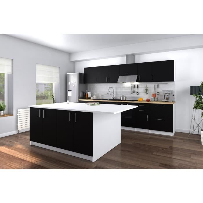 ilot central de cuisine achat vente pas cher. Black Bedroom Furniture Sets. Home Design Ideas