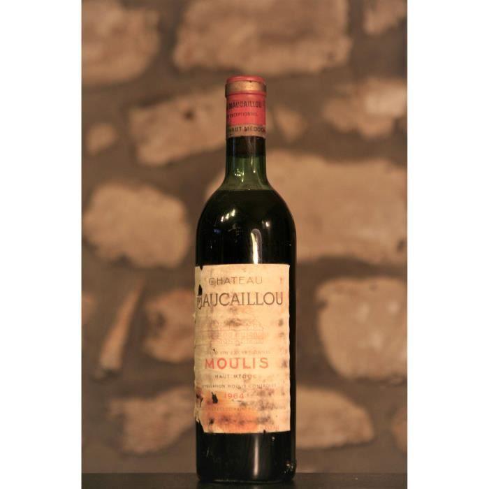 Vin rouge, Moulis, Château Maucaillou 1964 Rouge