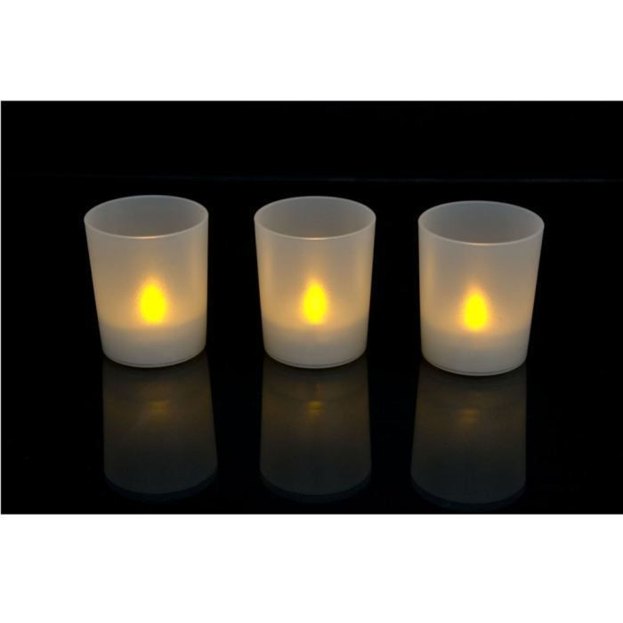 lot de 3 bougies led party lite achat vente bougies led party lite cdiscount. Black Bedroom Furniture Sets. Home Design Ideas