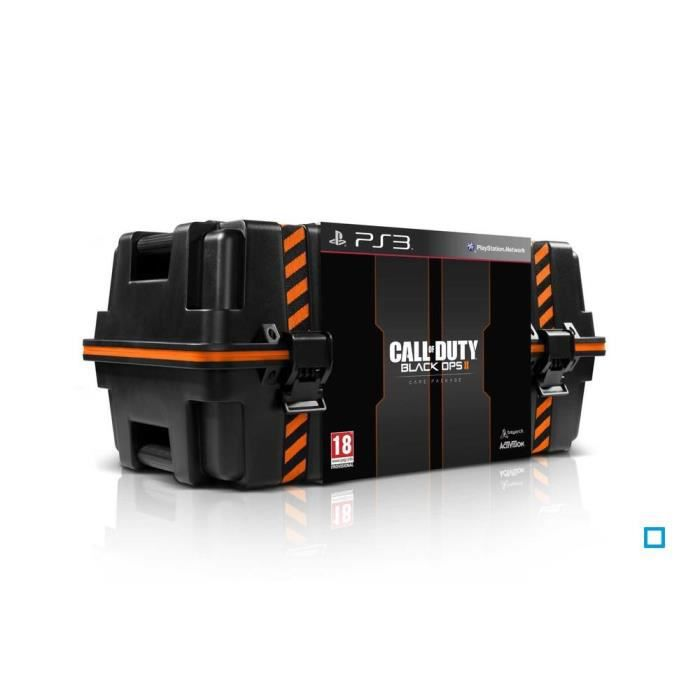 PACK ACCESSOIRE CALL OF DUTY BLACK OPS 2 CARE PACKAGE / PS3