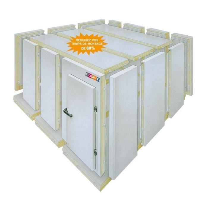 Chambre Froide Positive - Isolation 70 - Hauteur 2070 - Nosem - 1640 x 1260